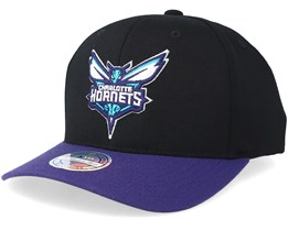 Charlotte Hornets 2 Tone Black/Grey 110 Adjustable - Mitchell & Ness