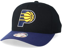Indiana Pacers 2 Tone Black/Navy 110 Adjustable - Mitchell & Ness