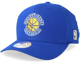 Golden State Warriors Intl323 HWC Royal/Yellow 110 Adjustable - Mitchell & Ness