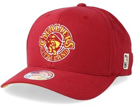 Cleveland Cavaliers Intl323 HWC Red/Yellow 110 Adjustable - Mitchell & Ness