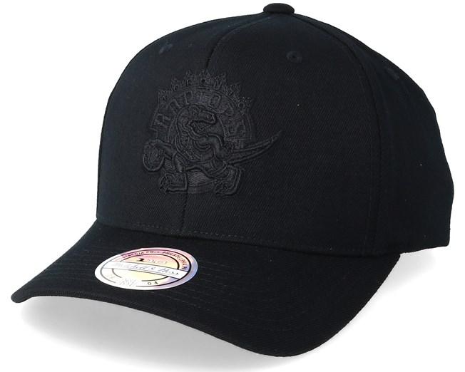 Toronto Raptors Black On Black 110 Adjustable - Mitchell   Ness caps -  Hatstore.ae ceb580a11f62