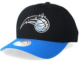 Orlando Magic 2 Tone Black/Blue 110 Adjustable - Mitchell & Ness