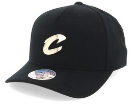 Cleveland Cavaliers Nar329 Gold Logo 110 Black Adjustable - Mitchell & Ness