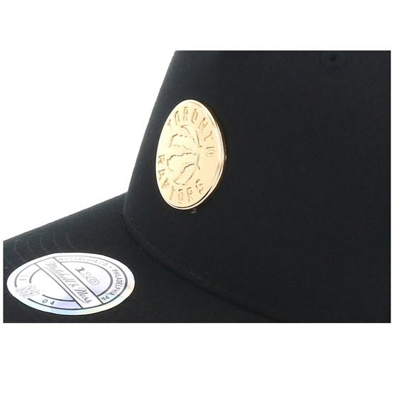 8be38d943825f5 Toronto Raptors Nar329 Gold Logo 110 Black Adjustable - Mitchell & Ness  caps - Hatstoreaustralia.com