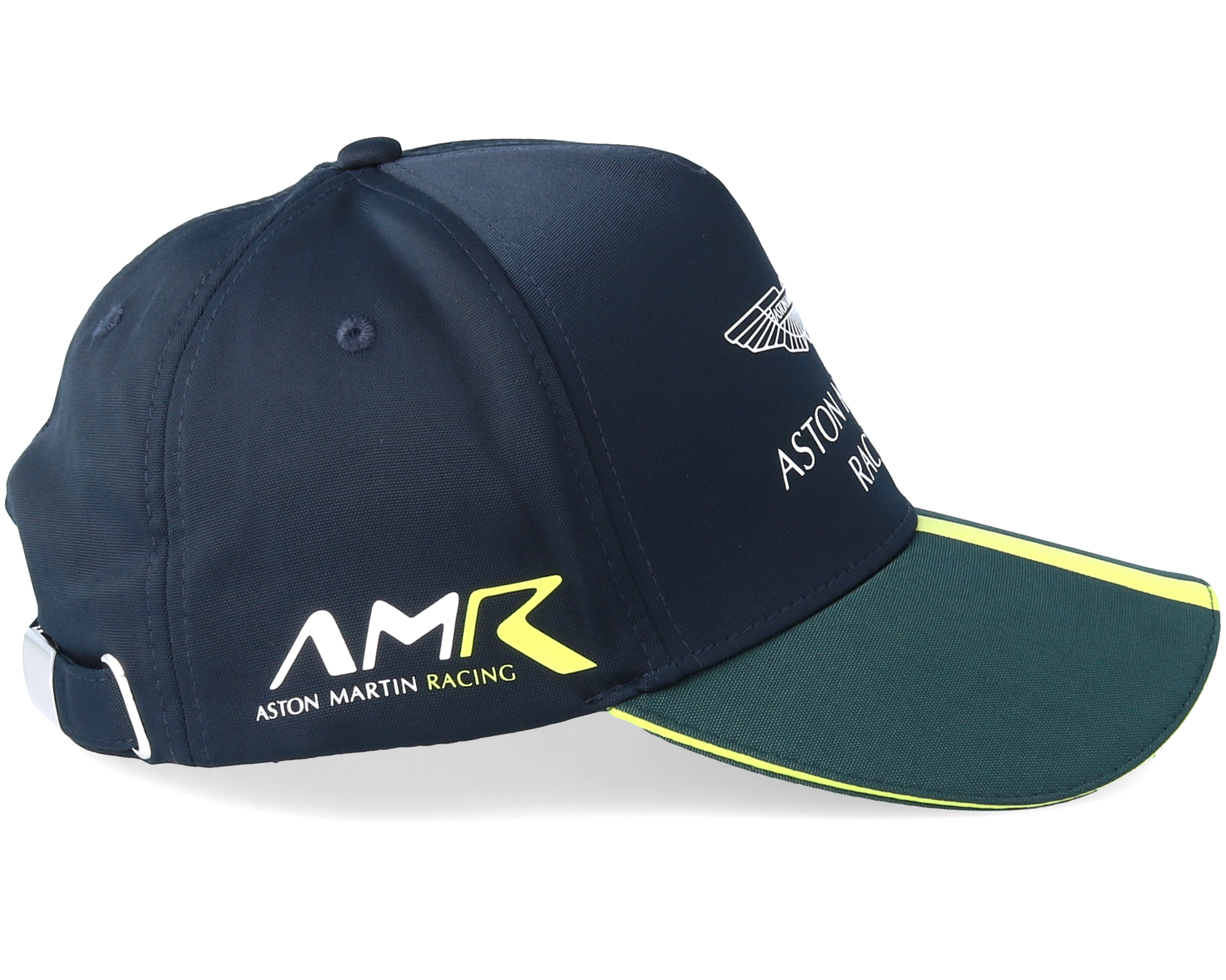 aston martin racing adult team cap navy green adjustable. Black Bedroom Furniture Sets. Home Design Ideas