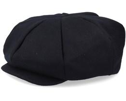 Big Apple Hat Black Flat Cap - Jaxon & James