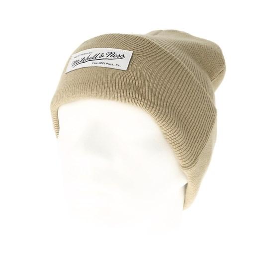 d926943cd69f5 Nostalgia Cuff Knit Sand Beanie - Mitchell   Ness beanie - Hatstore.co.in