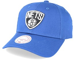 Brooklyn Nets Low Pro Strapback Navy Adjustable - Mitchell & Ness