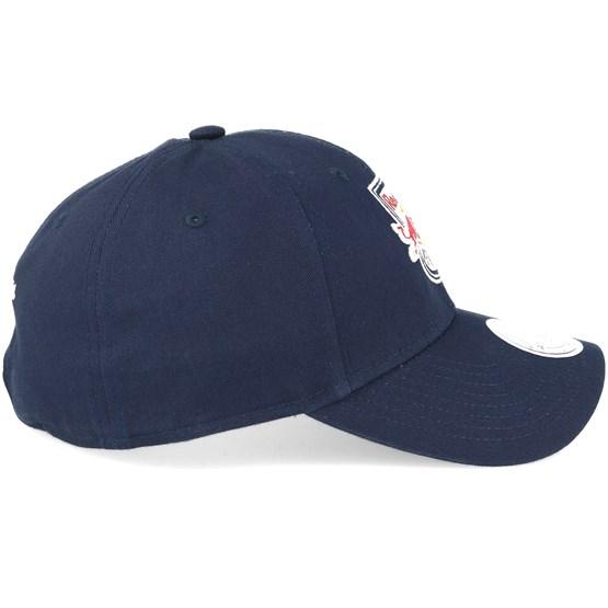 New York Red Bulls Team Logo Low Pro Strapback Navy Adjustable - Mitchell    Ness caps  ecde83d495