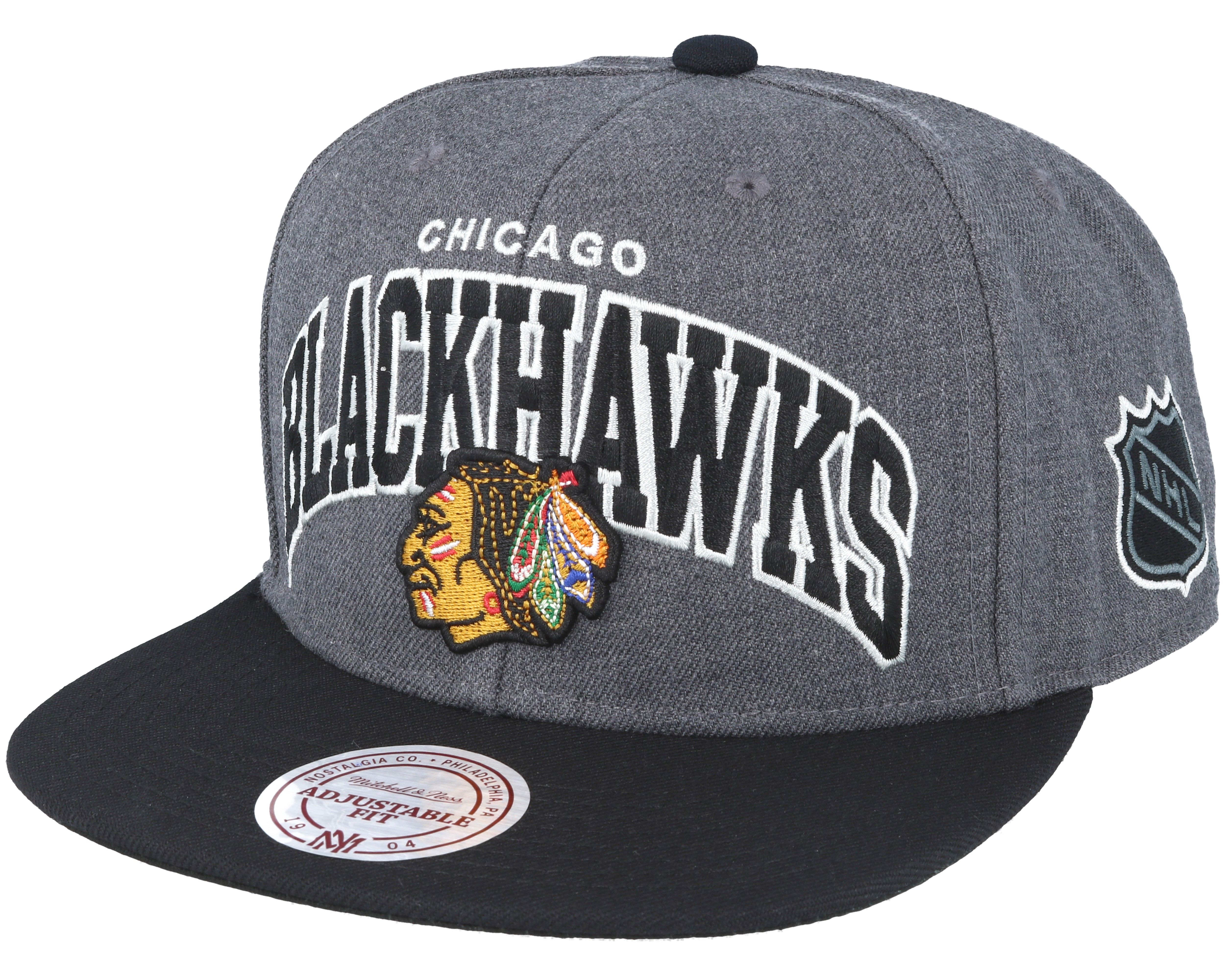 Chicago Blackhawks G2 Team Arch Snapback Mitchell Amp Ness