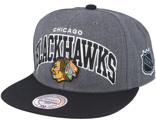 Chicago Blackhawks G2 Team Arch Snapback - Mitchell   Ness cap -  Hatstore.co.in 7c5f5c049f4d