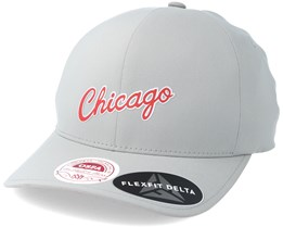 Chicago Bulls Delta Flex Grey Flexfit - Mitchell & Ness