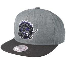 save off d81e3 95ec5 Toronto Raptors Heather Reflective Grey Snapback - Mitchell   Ness caps    Hatstore.co.uk