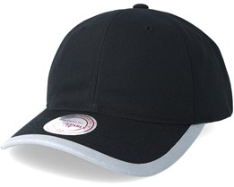 Running Reflective Trim Slouch Black Adjustable - Mitchell   Ness 725541623