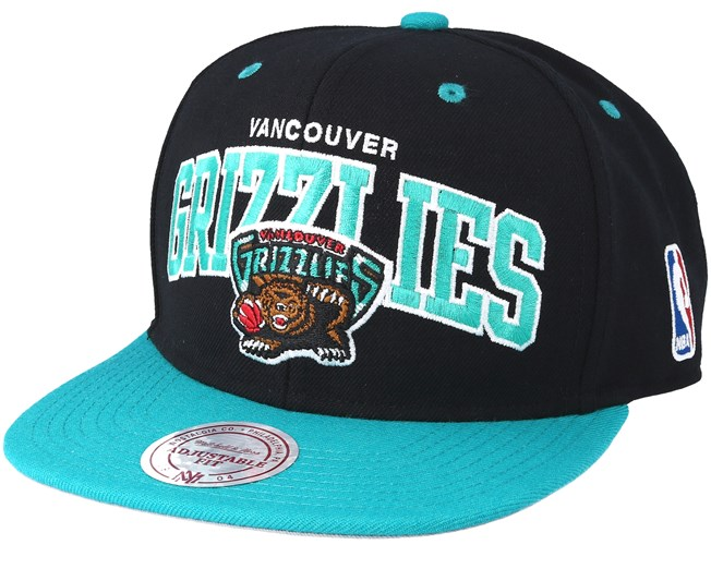 Vancouver Grizzlies Team Arch Snapback - Mitchell   Ness cap -  Hatstore.co.in f8066b1e2a26