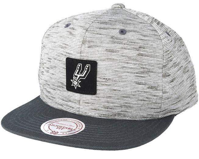 pretty nice 8990d 29caa San Antonio Spurs Brushed Melange Snapback - Mitchell   Ness - Start  Cappellino - Hatstore