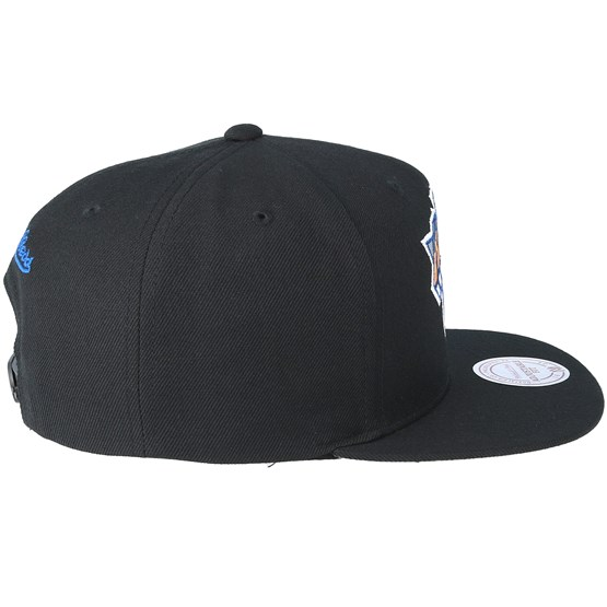 122e5577ac5 New York Knicks Easy Three Digital XL Black Snapback - Mitchell   Ness keps  - Hatstore.se