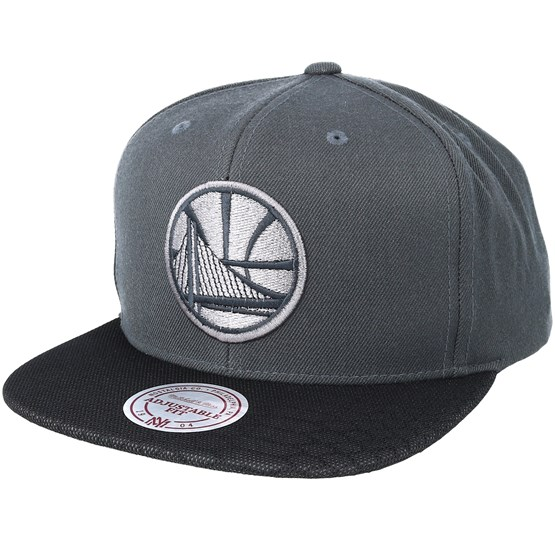 purchase cheap 22d26 d99c9 Golden State Warriors Hologram Mesh Stop On Dime Charcoal Snapback -  Mitchell   Ness caps - Hatstoreworld.com