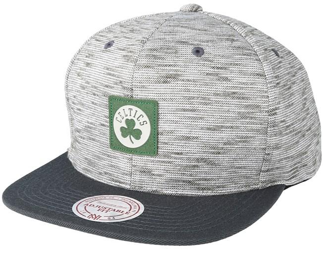 newest dd2e1 cef1b Boston Celtics Brushed Melange Snapback - Mitchell   Ness cap -  Hatstore.co.in
