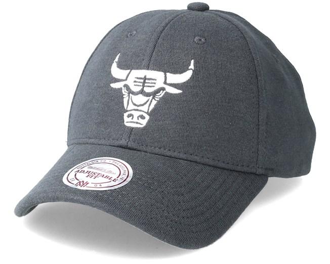 Mitchell /& Ness Snapback Cap Jersey Chicago Bulls grau