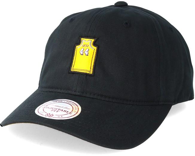 384787141df Los Angeles Lakers Small Jersey Dad Hat Black Adjustable - Mitchell   Ness  caps - Hatstoreworld.com