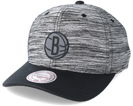 Brooklyn Nets Swish Grey/Black Adjustable - Mitchell & Ness