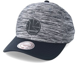 Golden State Warriors Swish Grey/Navy Adjustable - Mitchell & Ness