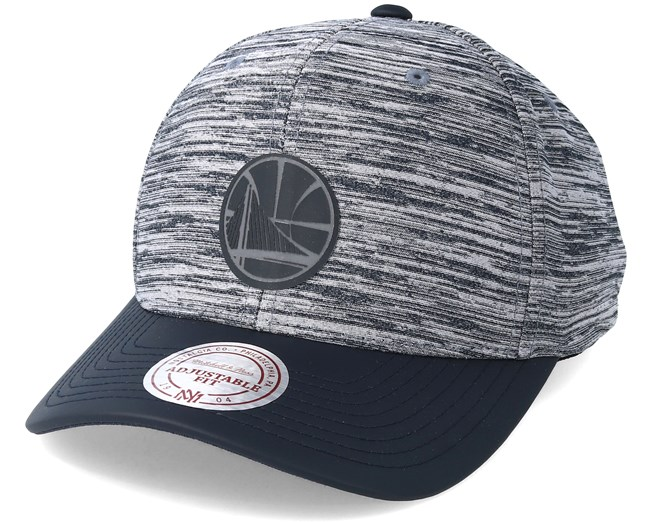 online store 3452c b75ee Golden State Warriors Swish Grey Navy Adjustable - Mitchell   Ness