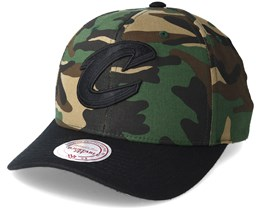 Cleveland Cavaliers 110 Flexfit Camo Adjustable - Mitchell & Ness