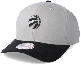 Toronto Raptors Hyper Tech Wool Crown Grey Adjustable - Mitchell & Ness