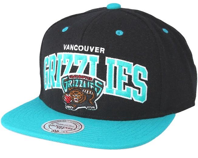 Vancouver Grizzlies Team Arch Black Snapback - Mitchell   Ness caps -  Hatstoreworld.com 39a2822bfa