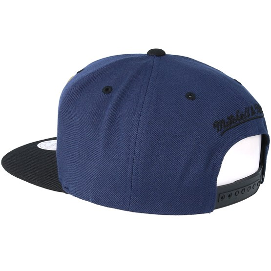 huge discount 371ea 20909 Memphis Grizzlies Black   Gold Metallic Navy Snapback - Mitchell   Ness caps  - Hatstoreworld.com