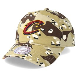 low priced 72b48 34d32 Almost Gone! -50%. Mitchell   Ness Cleveland Cavaliers Dad Hat ...