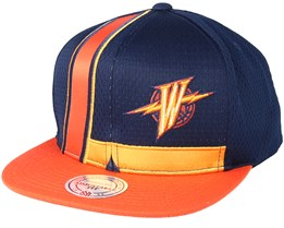 Golden State Warriors  Jersey Navy Snapback - Mitchell & Ness