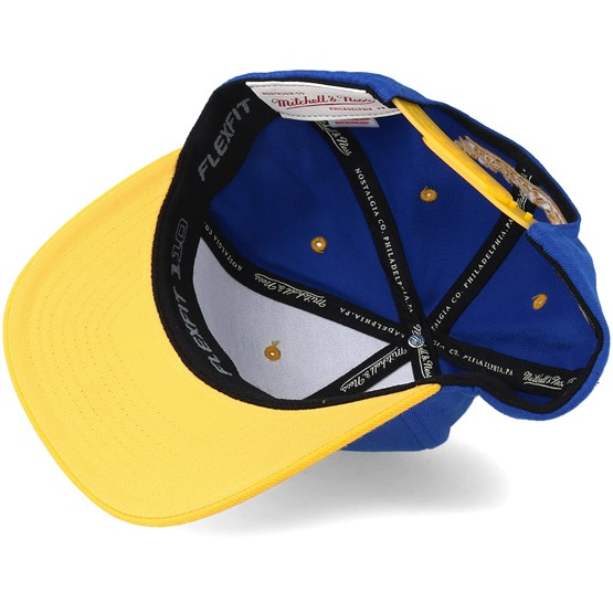 best service 4d997 82274 Golden State Warriors Team Logo 2-Tone 110 Royal Adjustable - Mitchell   Ness  caps - Hatstoreaustralia.com