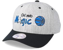 Orlando Magic Team Logo 2-Tone Grey Adjustable - Mitchell & Ness