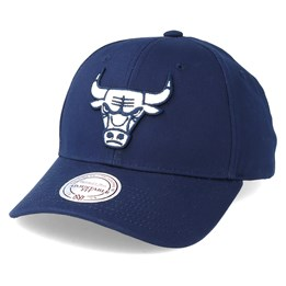 24f699f1 Mitchell & Ness Chicago Bulls Team Logo Low Profile Navy Adjustable -  Mitchell & Ness $24.99