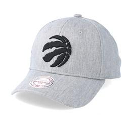 online retailer f4dae 8fc07 Mitchell   Ness Toronto Raptors Team Logo Low Profile Heather Grey  Adjustable - Mitchell   Ness CA  28.79 CA  31.99