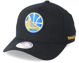 Golden State Warriors Eazy Black 110 Adjustable - Mitchell & Ness