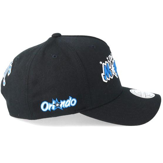 Orlando Magic Eazy Black 110 Adjustable Mitchell Amp Ness