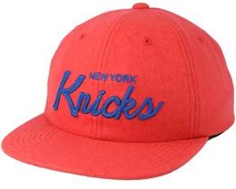 New York Knicks 20's All American Orange Strapback - Mitchell & Ness