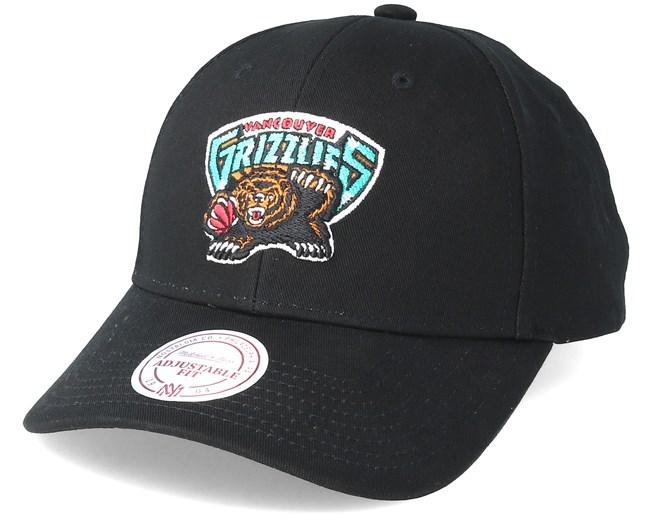 e6d5f35664ca3 Vancouver Grizzlies Team Logo Low Profile Black Snapback - Mitchell   Ness  caps - Hatstoreworld.com