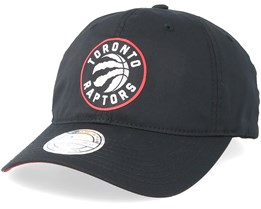 Toronto Raptors Light & Dry Black Adjustable - Mitchell & Ness