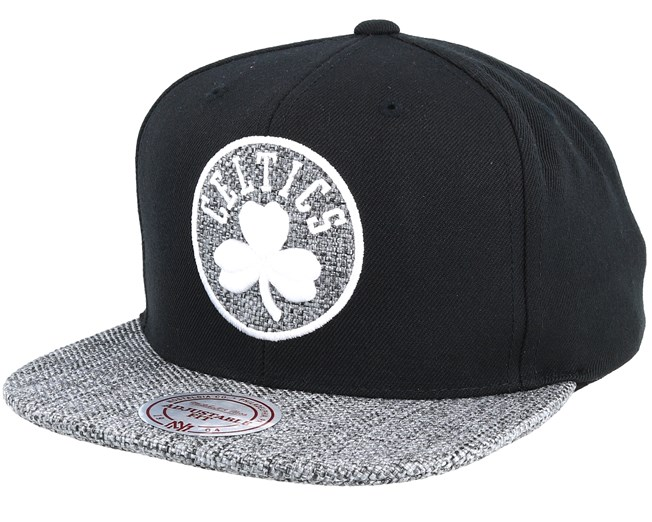 Boston Celtics Woven Tc Black Snapback - Mitchell   Ness caps -  Hatstoreworld.com 75f7f451d