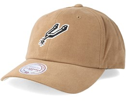 San Antonio Spurs Haze Khaki Adjustable - Mitchell & Ness