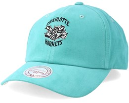 Charlotte Hornets Haze Teal Adjustable - Mitchell & Ness