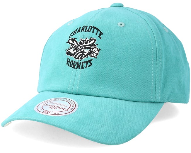 Charlotte Hornets Haze Teal Adjustable - Mitchell   Ness - Start Gorra -  Hatstore f859b709d2c
