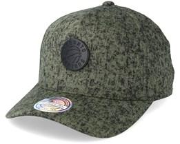 Toronto Raptors Corrosive Olive/Black Adjustable - Mitchell & Ness