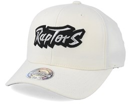 Toronto Raptors Courtside 2 Cream 110 Adjustable - Mitchell & Ness