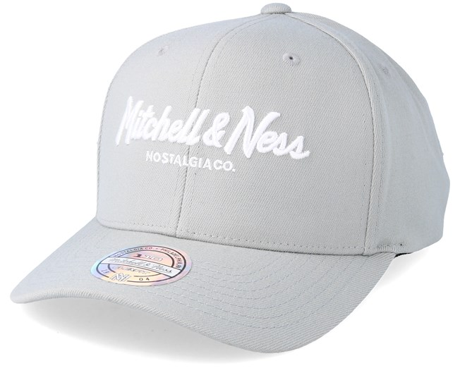 8a3936545bb01 Pinscript High Crown Silver Cloud 110 Adjustable - Mitchell   Ness caps -  Hatstoreworld.com